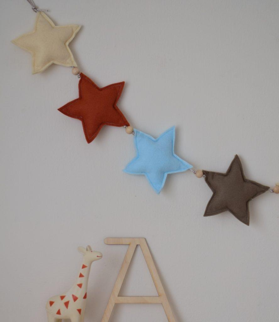 sterren slinger blauw
