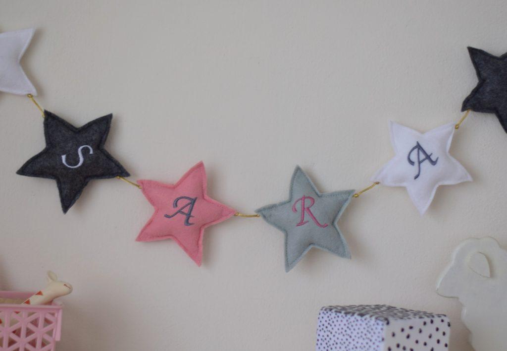 sterren slinger roze