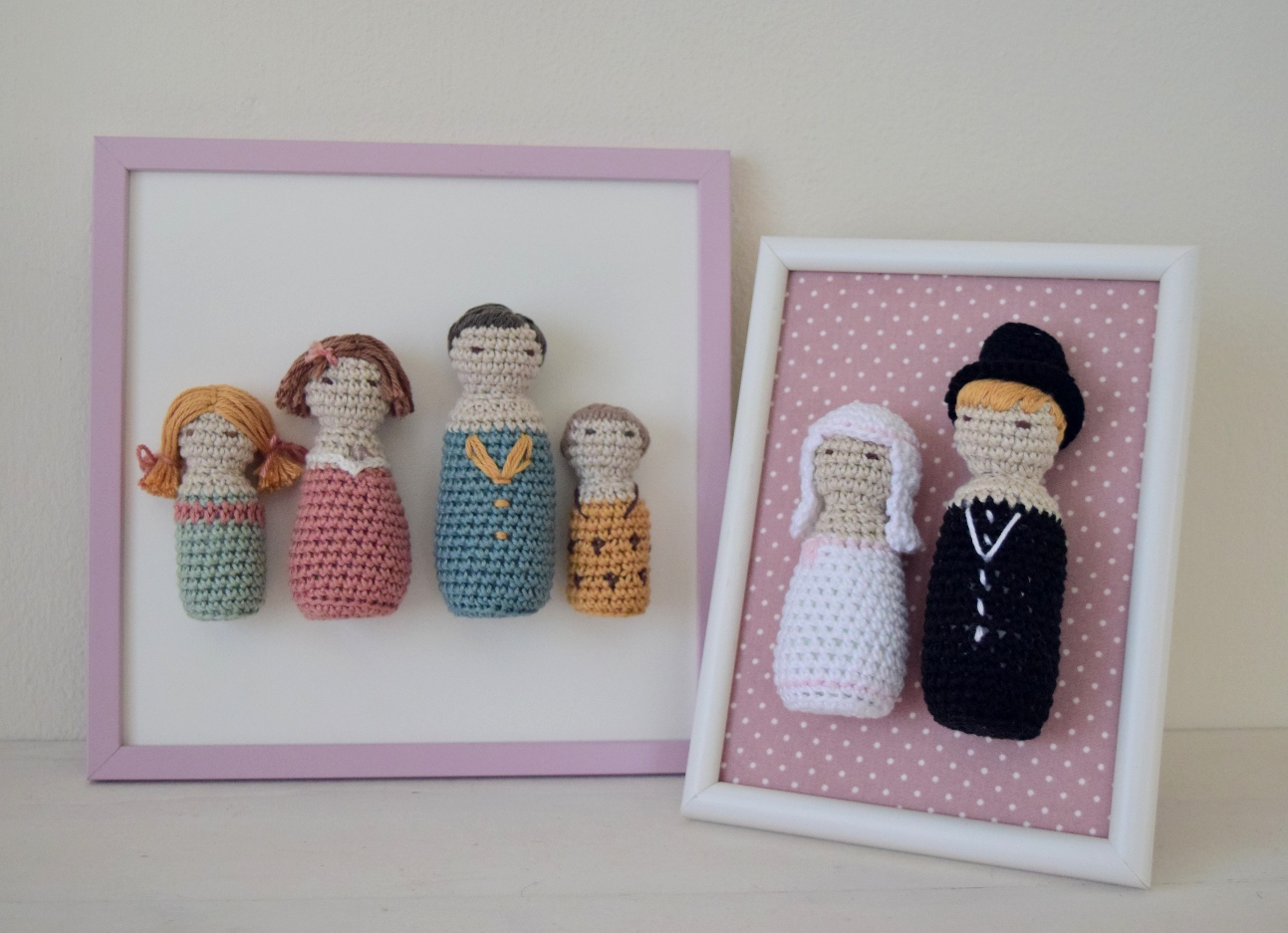 bruidspaar en familie