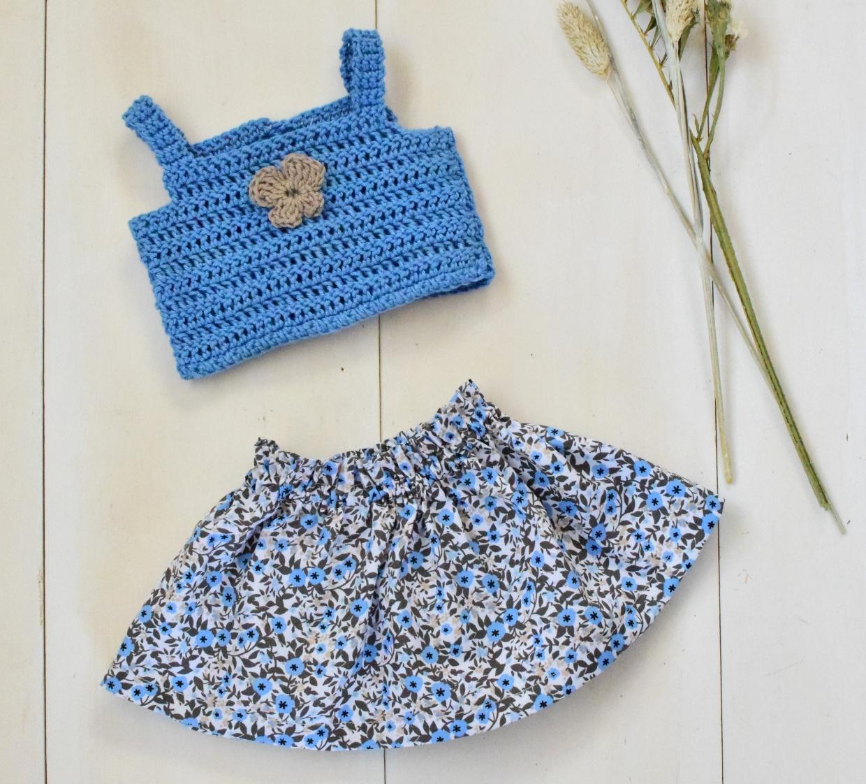 babyborn setje vlinder blauw 2