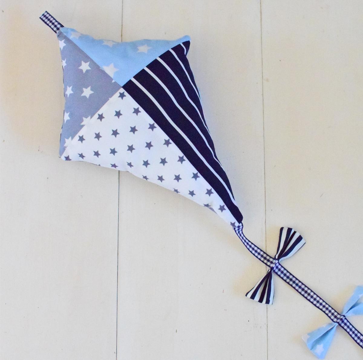 vlieger blauw grijs 2